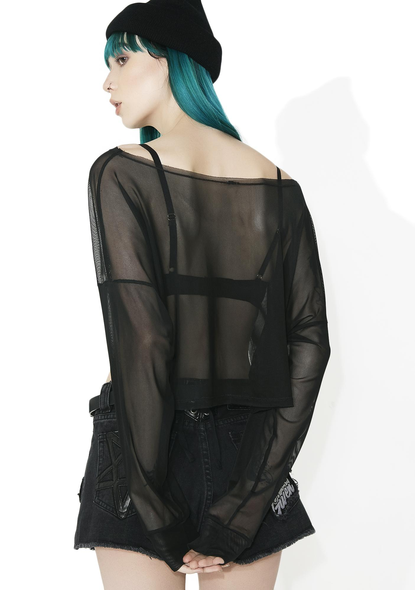 All Night Sheer Long Sleeve