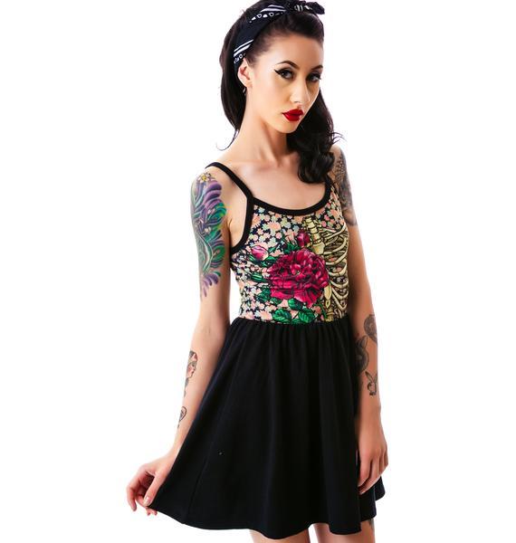 Rose Cage Ballerina Dress