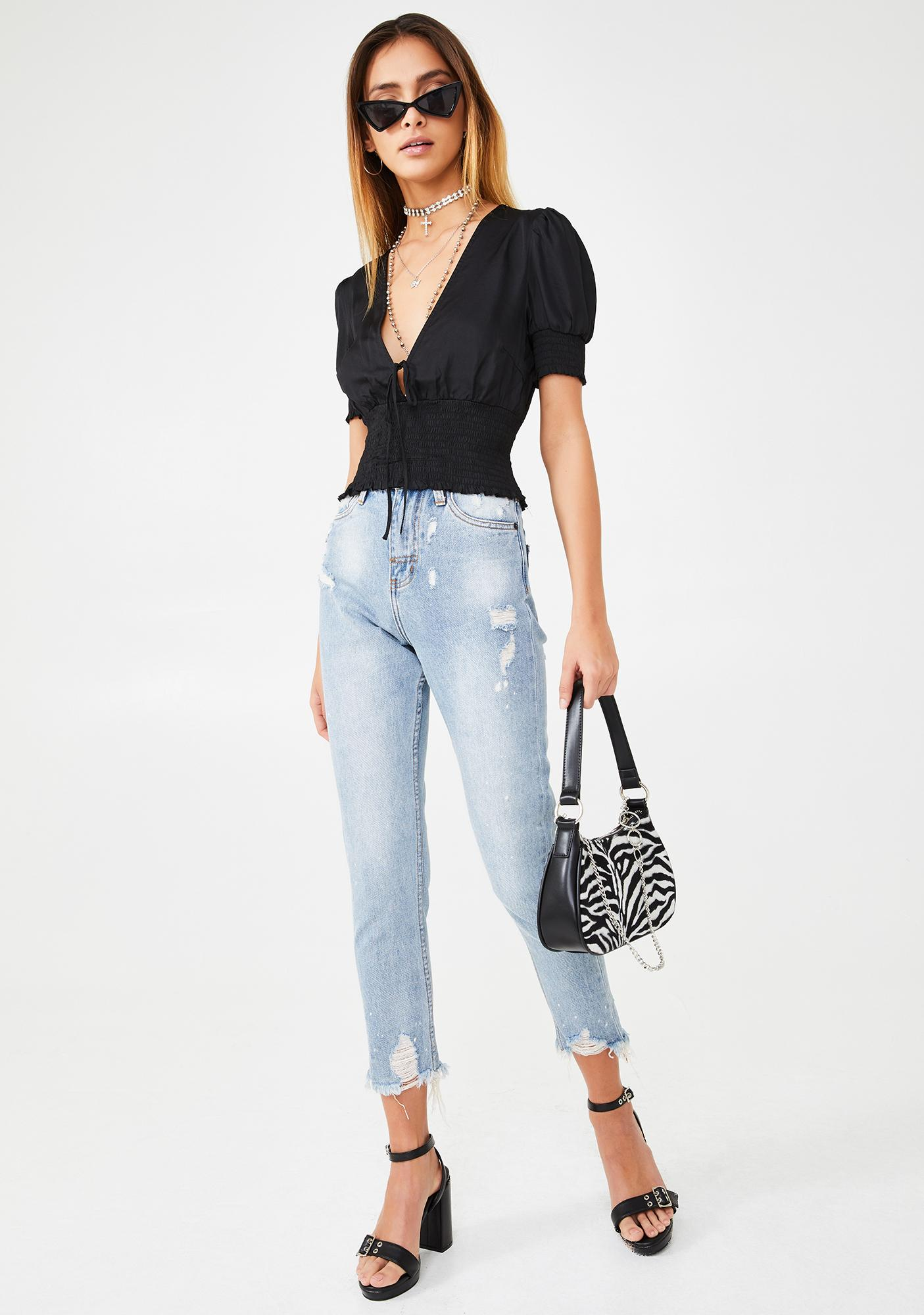 Day Trippin' Blouse Top