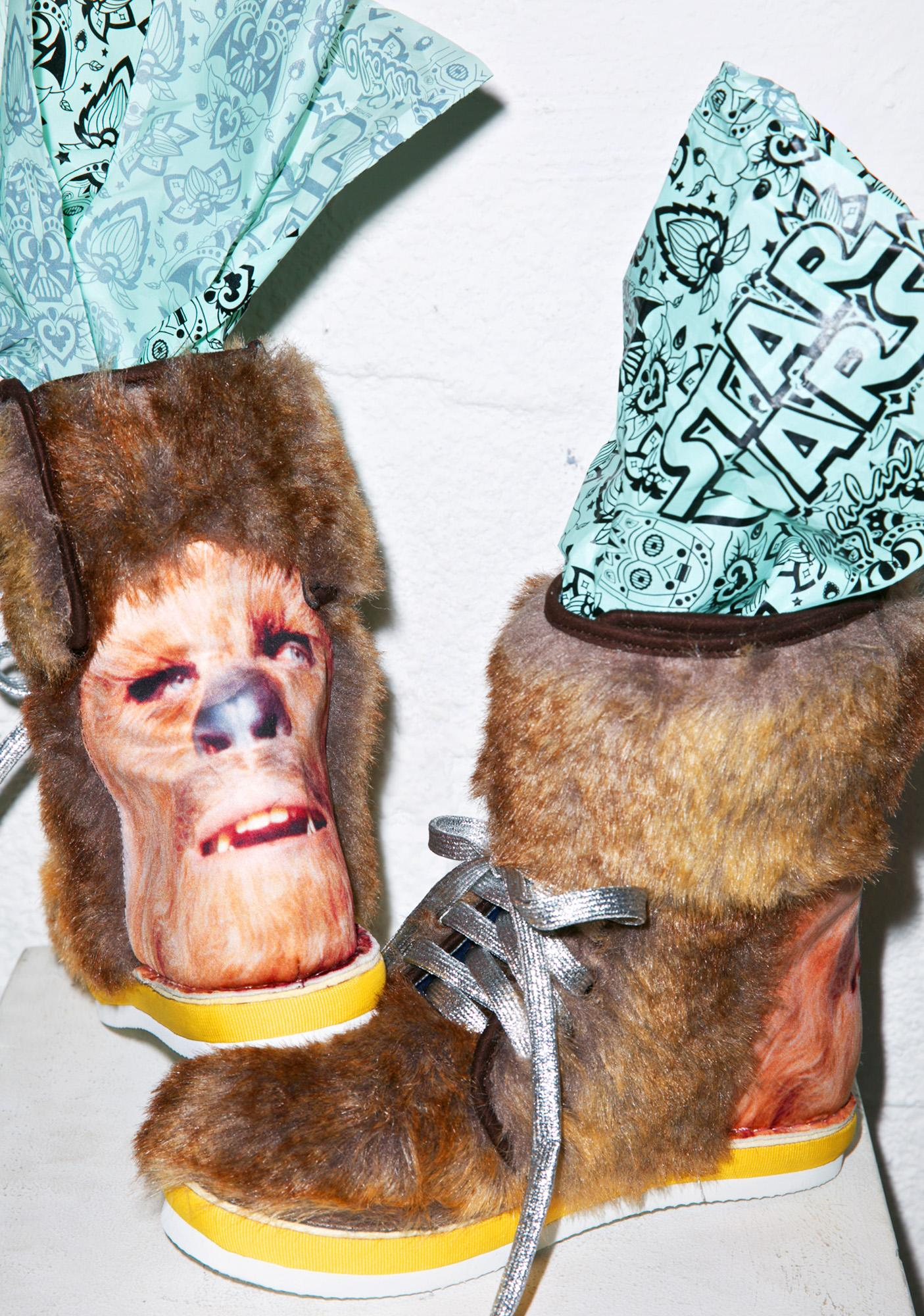 Irregular Choice Chewbacca Boots