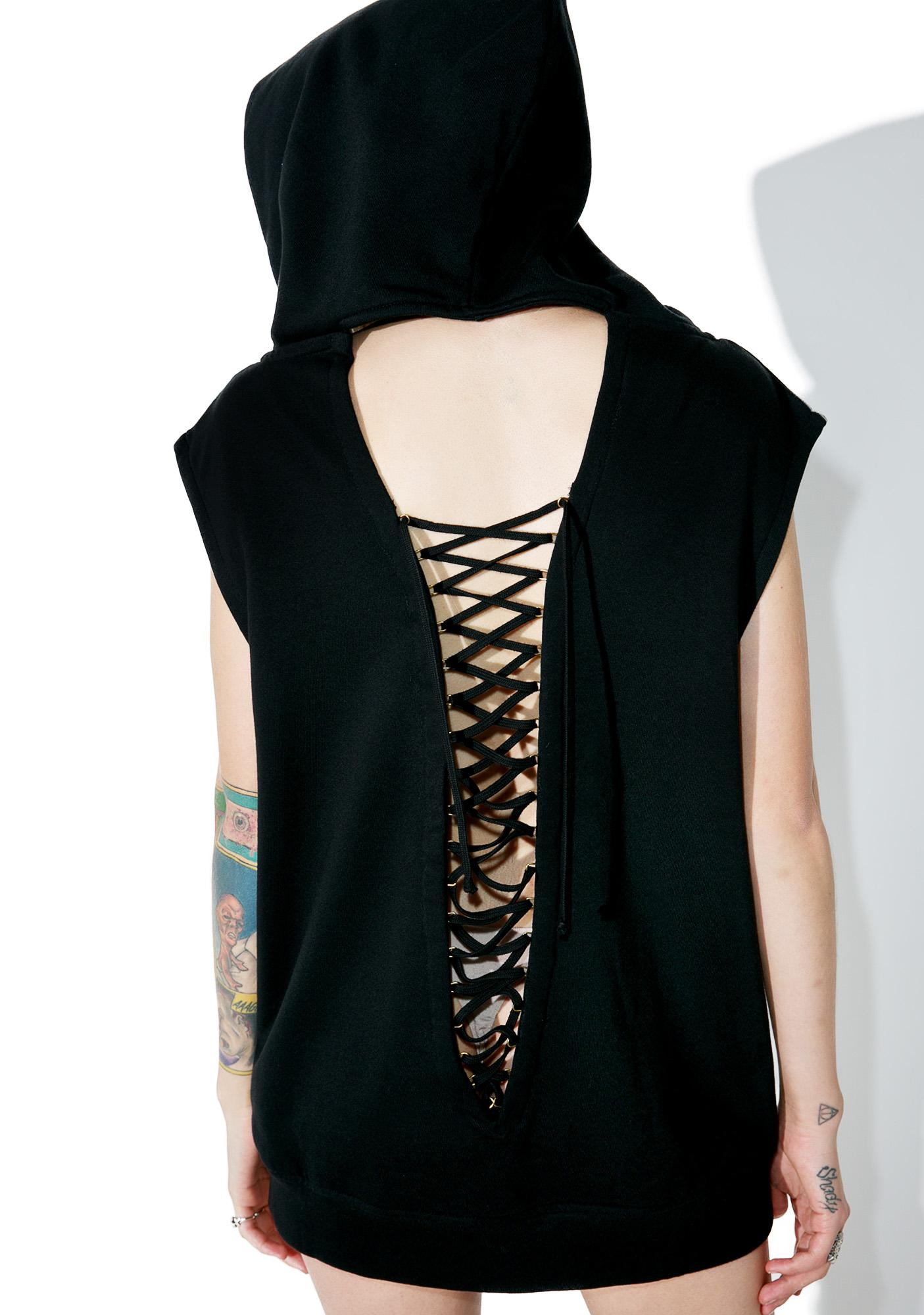 Withering Away Hooded Top