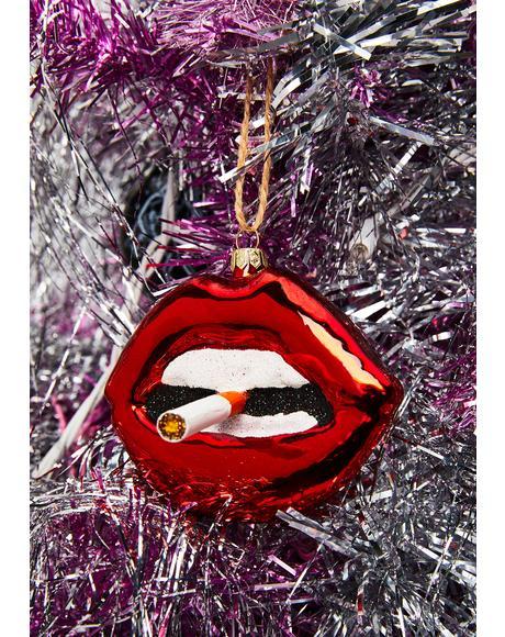 Sssmokin' Lip Ornament