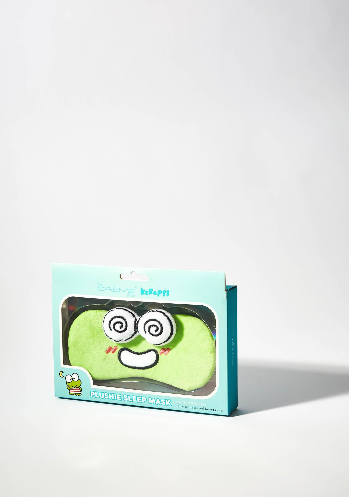 The Crème Shop Keroppi Plushie Sleep Mask