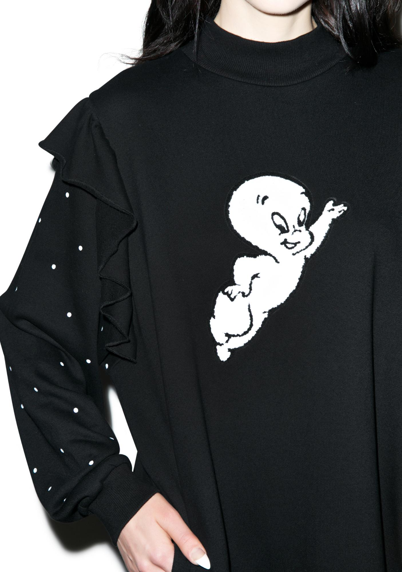 Lazy Oaf X Casper Polka Sweatshirt