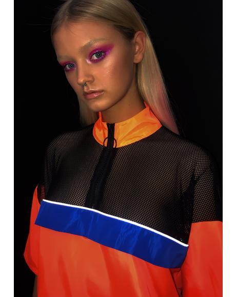 Radioactive Remix Neon Dress
