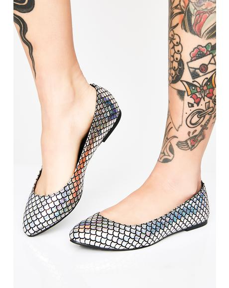 Metallic Scale Flats
