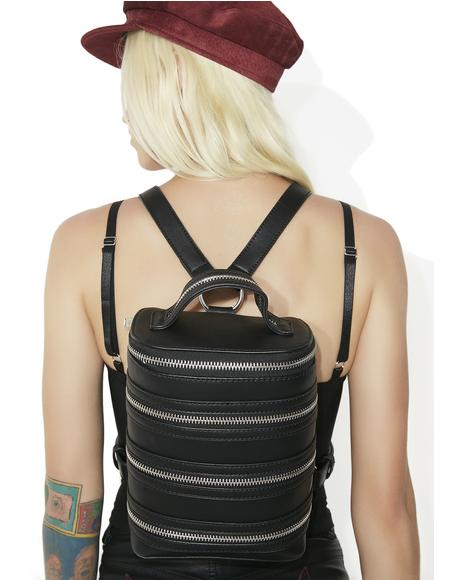 Zip Down Backpack