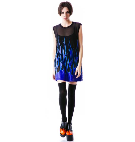 Evil Twin Freezer Burn Muscle Tunic