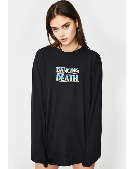 Widow Maker Graphic Long Sleeve Tee