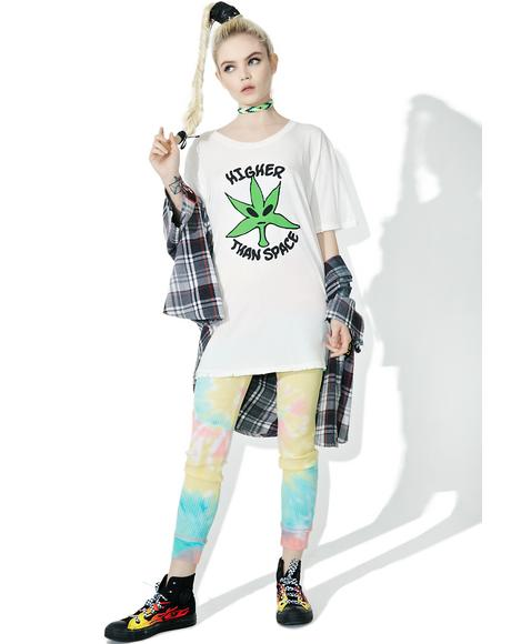 Higher Than Space Tee