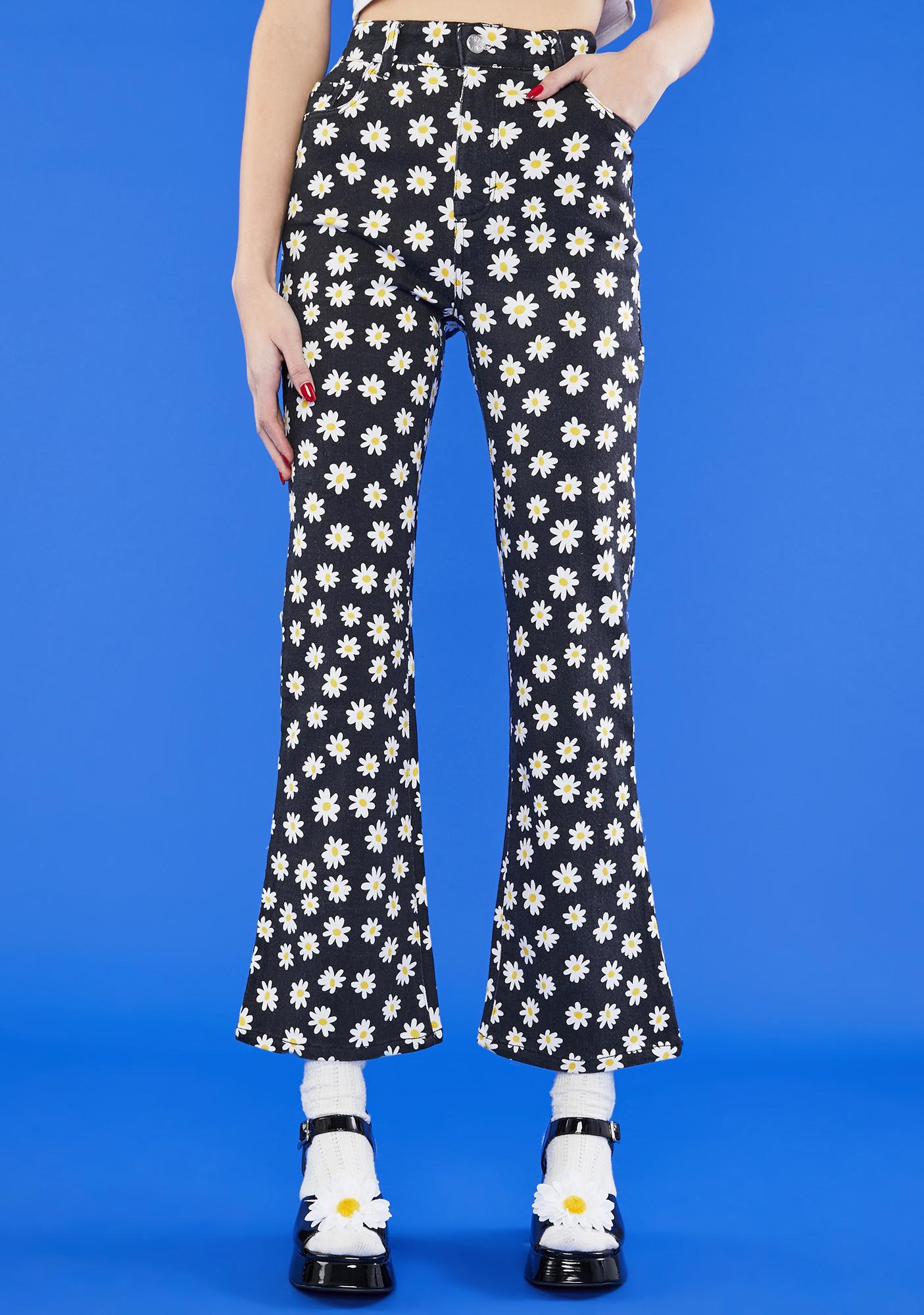 dELiA*s by Dolls Kill What's The Buzz Flare Jeans