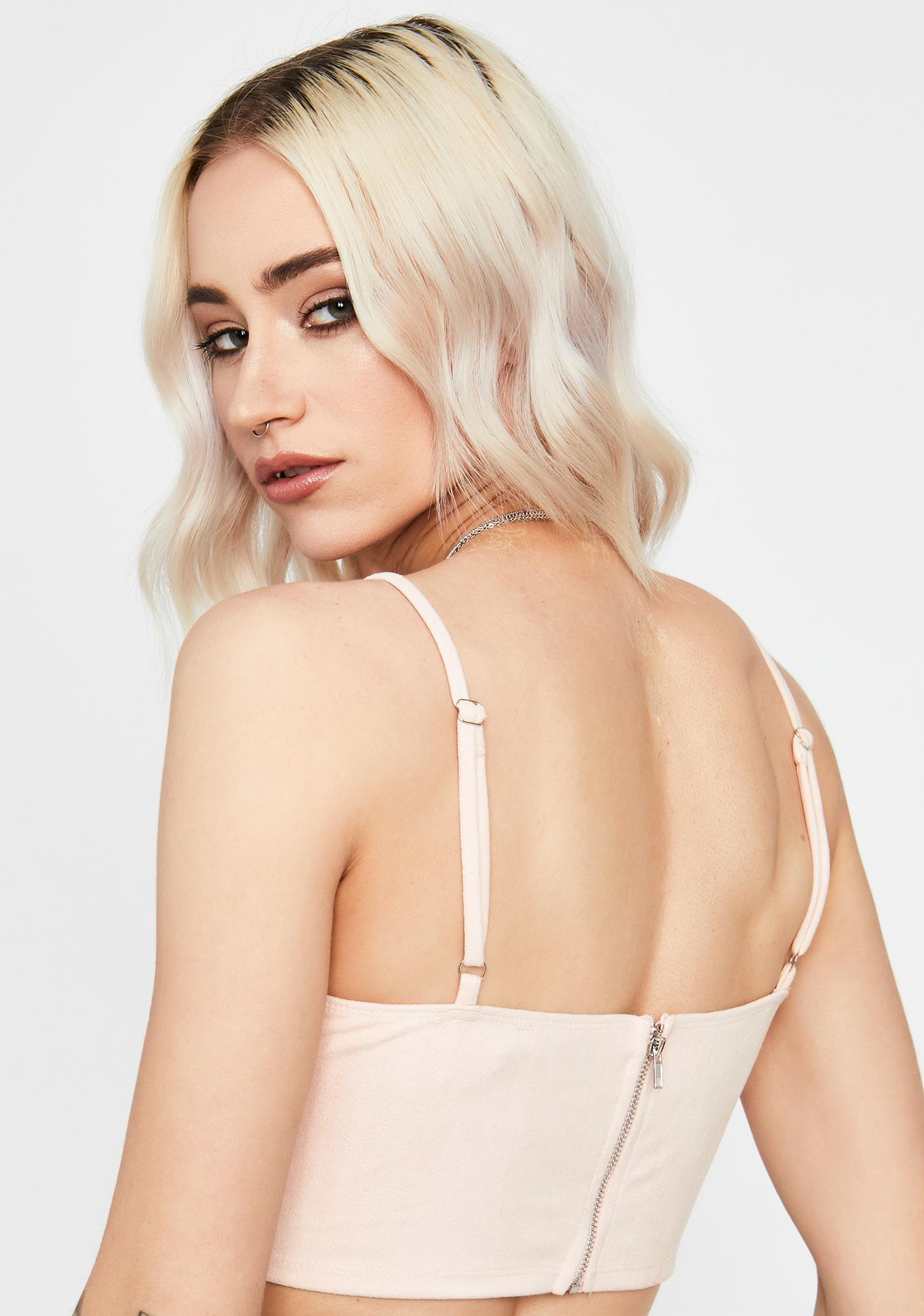 Petal Can't Give You Up Crop Tank