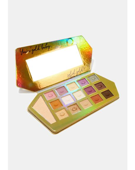 Gold Bar Eyeshadow Palette