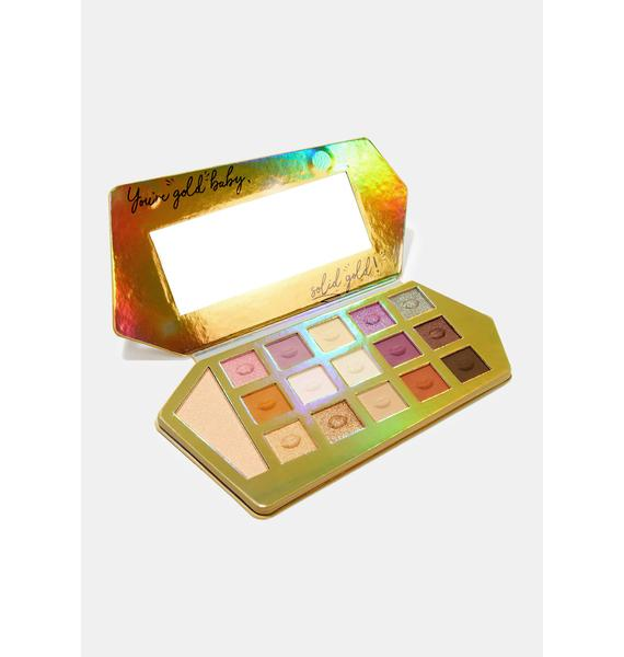 Spoiled Lips Cosmetics Gold Bar Eyeshadow Palette