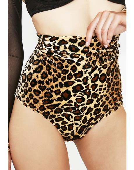 Leopard Sophini Shorts