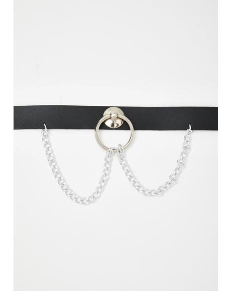 Take My Breath Away O-Ring Choker