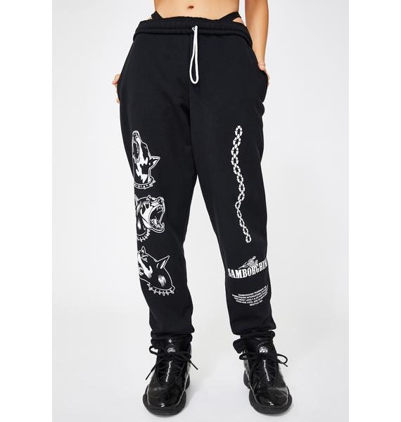 Samborghini Barking Dog Sweatpants