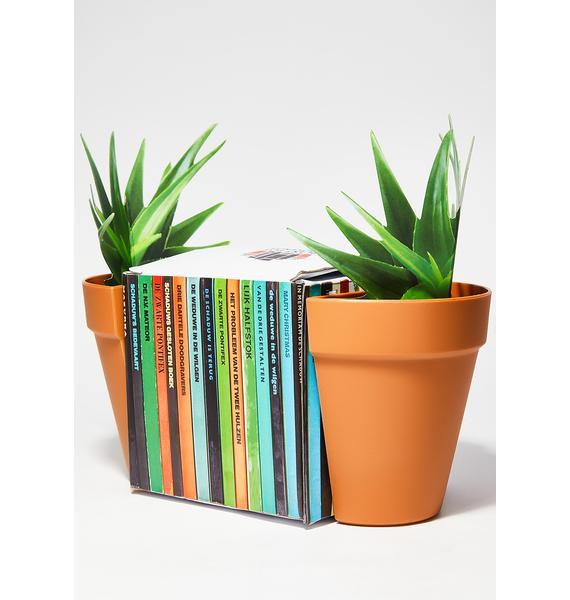 Planter Book Ends