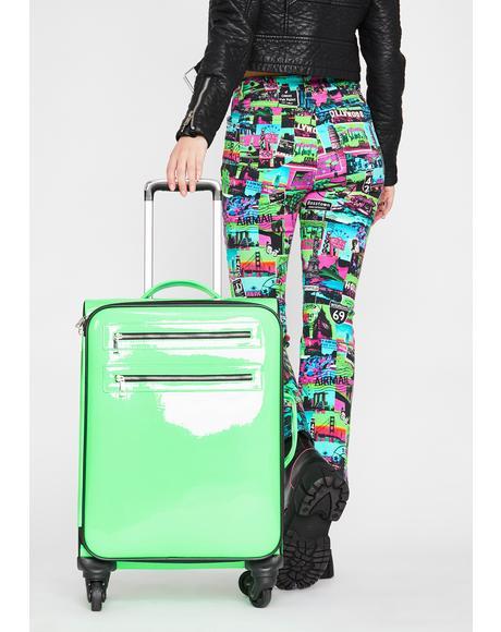 Untamed Odyssey Hologram Suitcase
