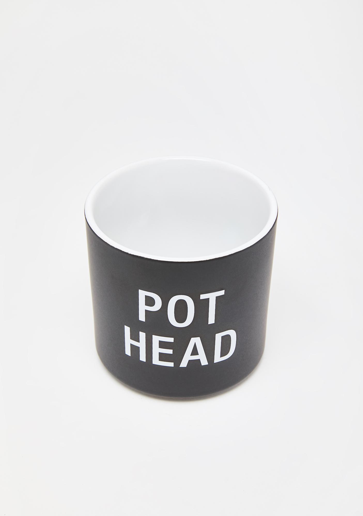 Pot Head Planter