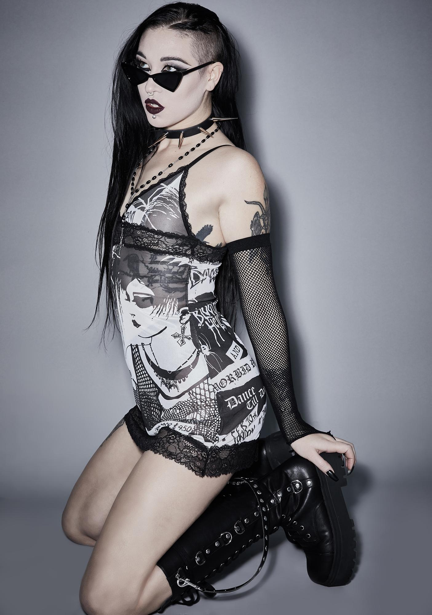 Widow It's Black Friday Slip Dress