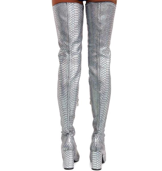 Force Of Nature Thigh High Boots