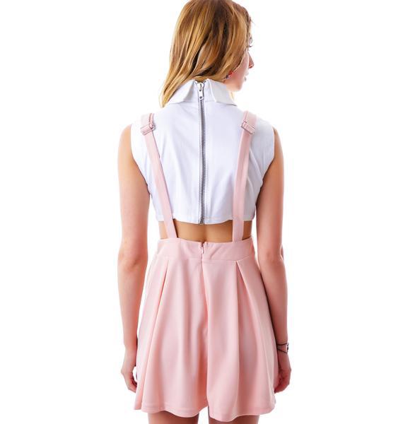 Good Girl Suspender Dress