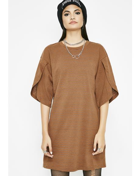 Sitting Front Row Tee Dress
