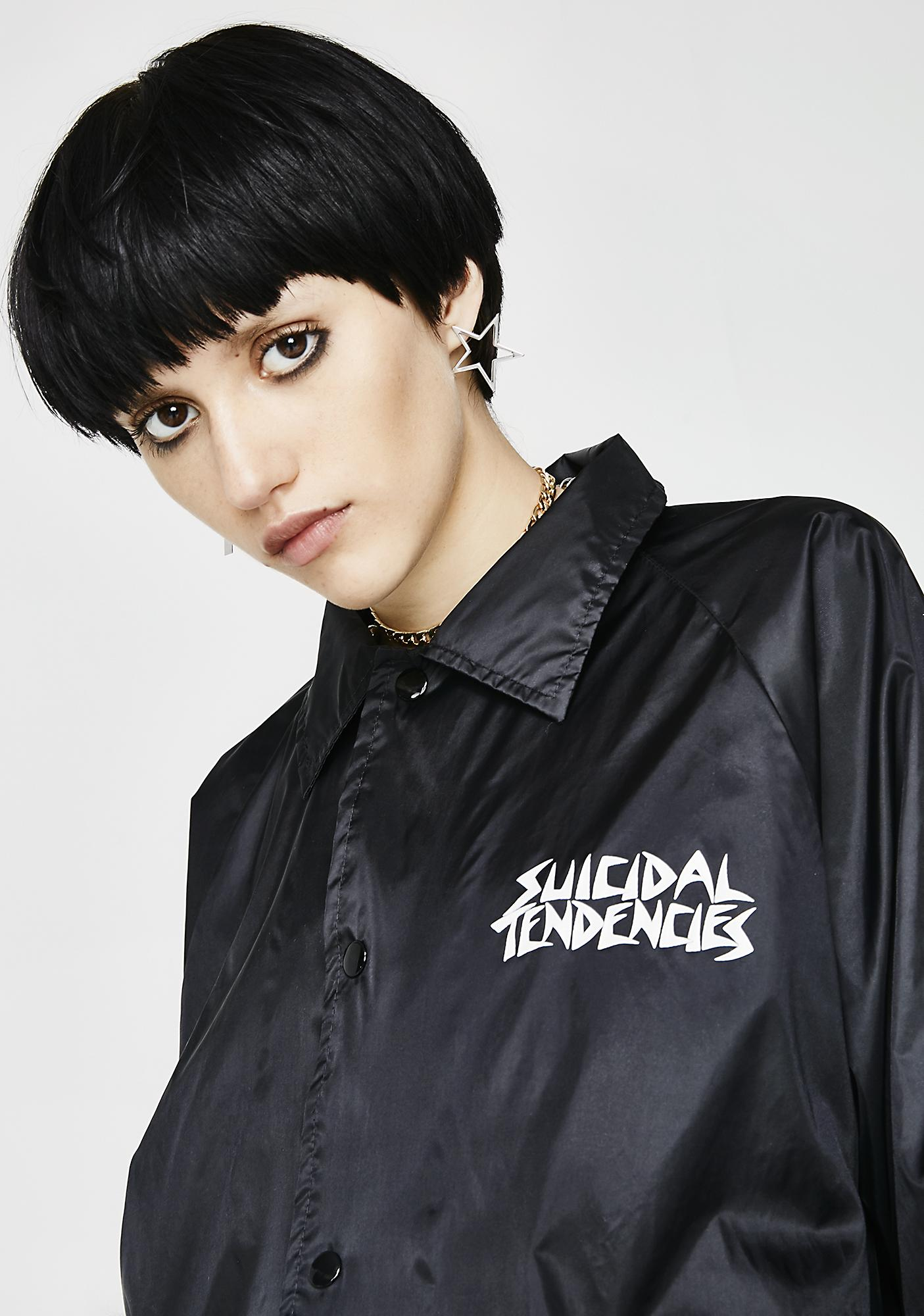 Suicidal Tendencies Goth OG Flipskull Windbreaker