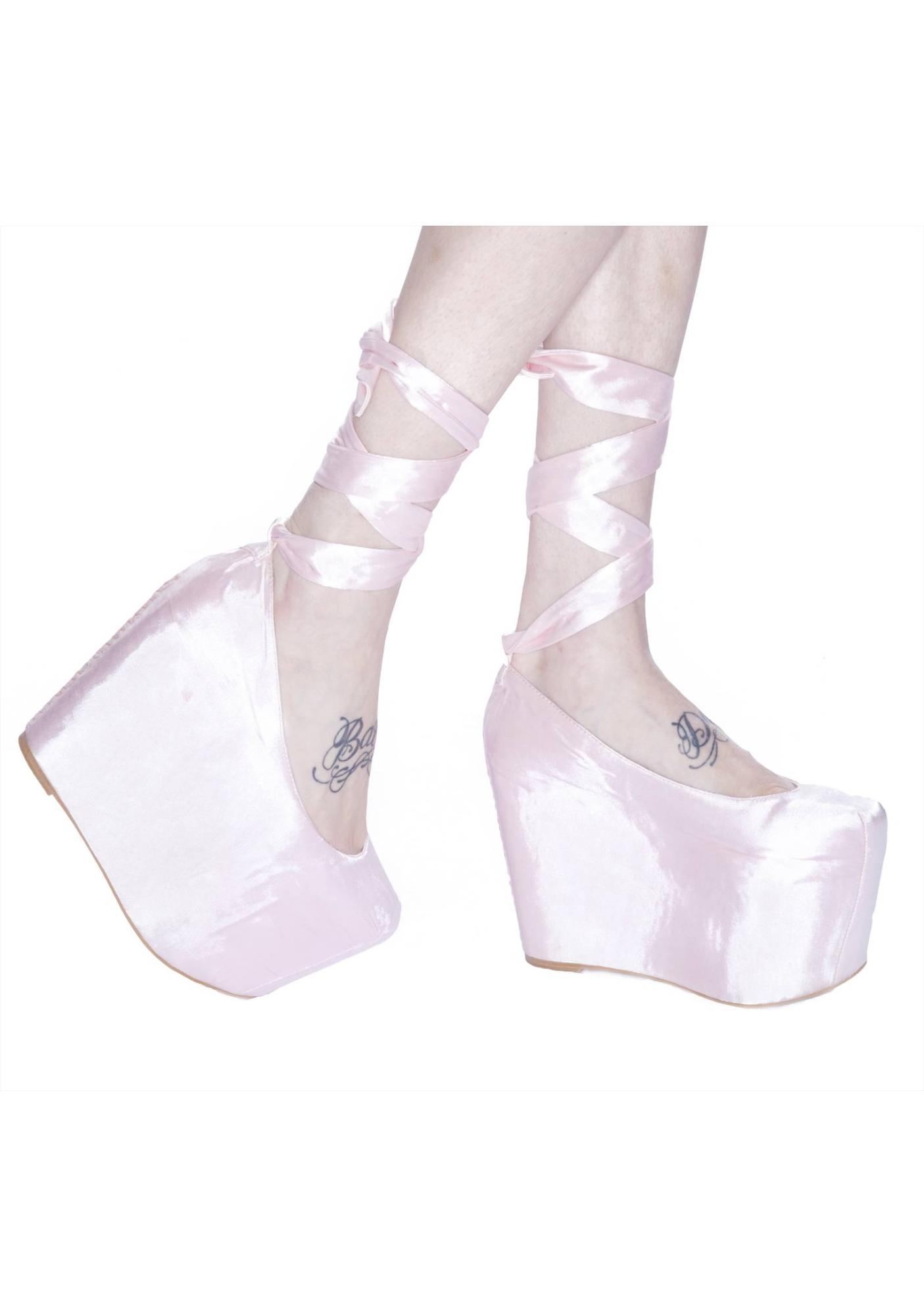 Wildfox Couture Wildfox x Jeffrey Campbell Ballet Platforms