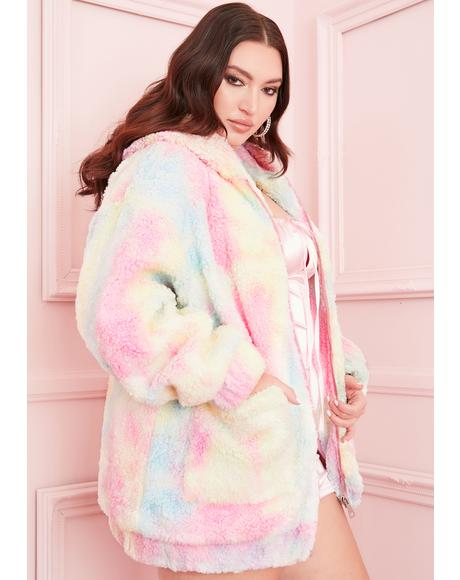 Divine Angel For Hire Teddy Jacket