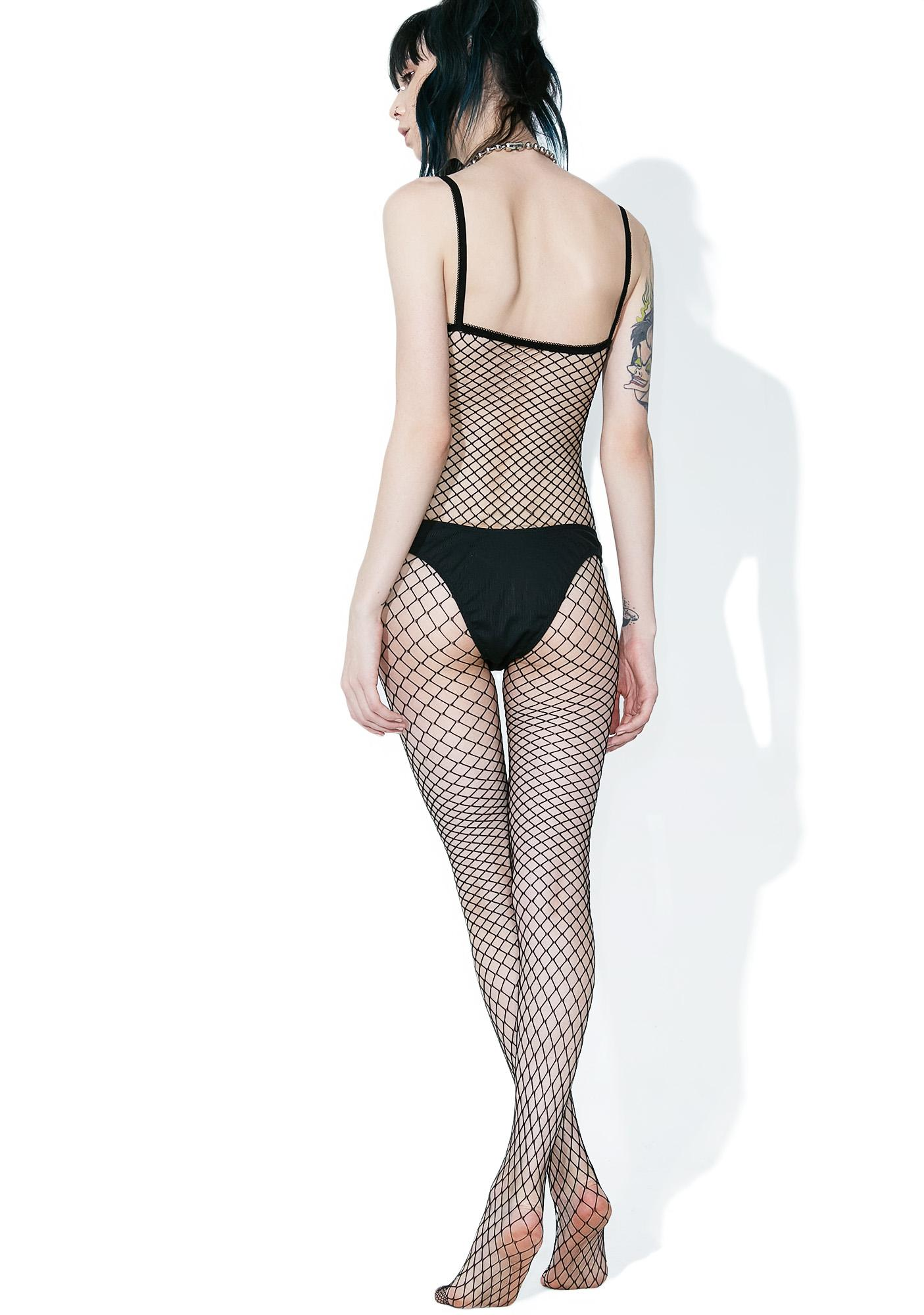 Inferno Fishnet Bodystocking