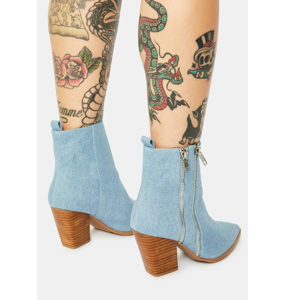 Rebels Kailee Denim Boots