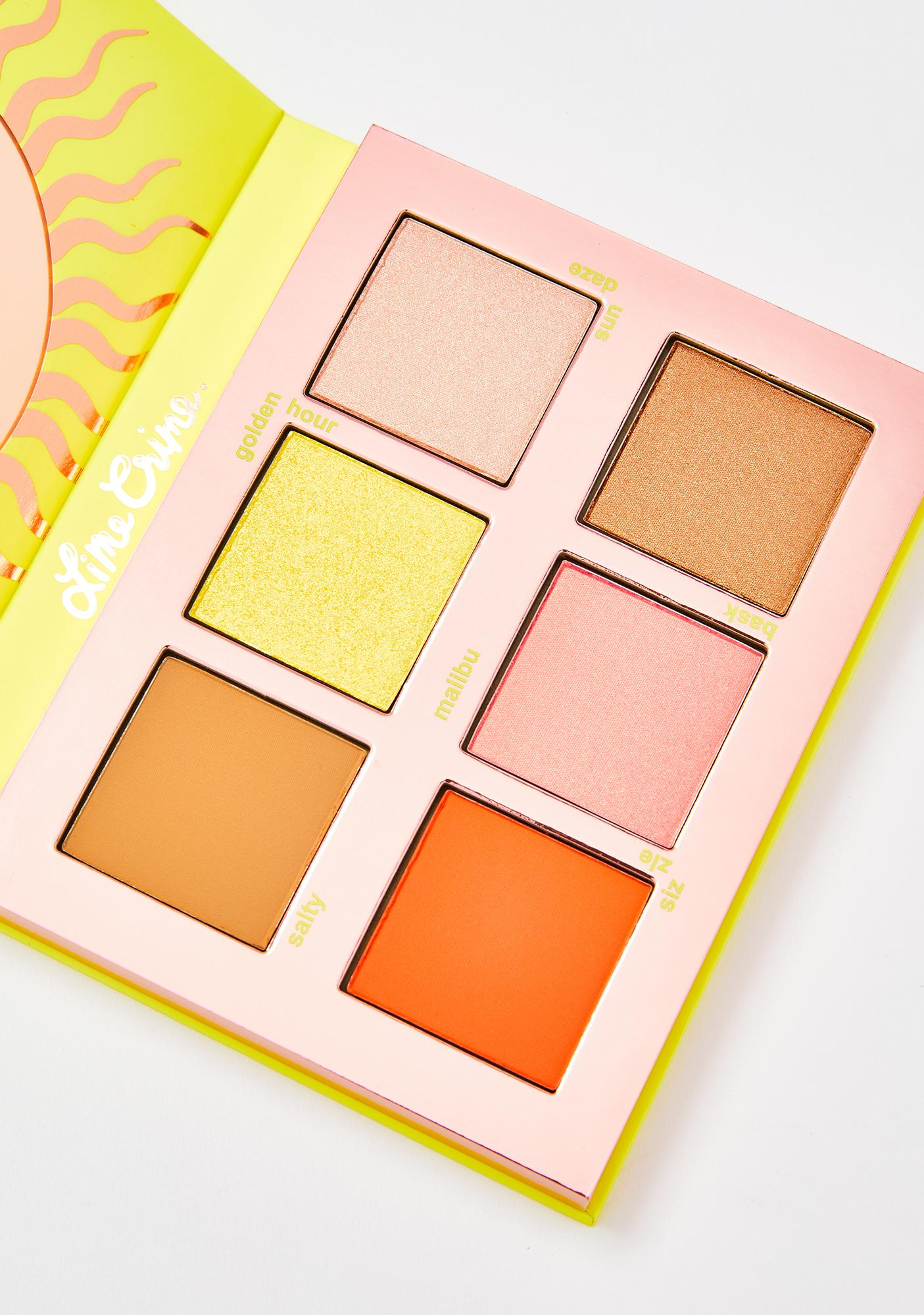 Lime Crime Sunkissed Blush N' Bronze Face Palette