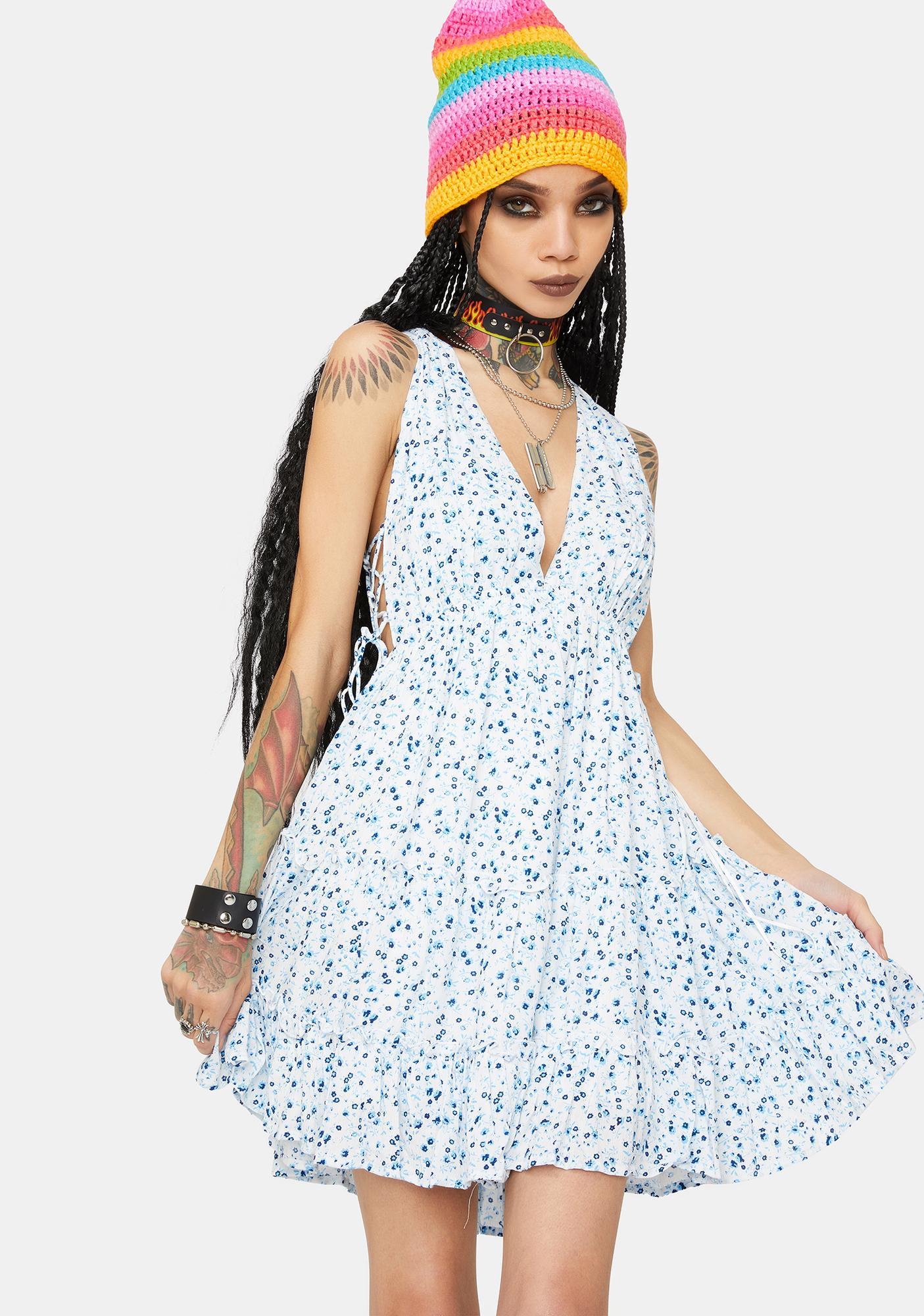 New Gardens Mini Dress