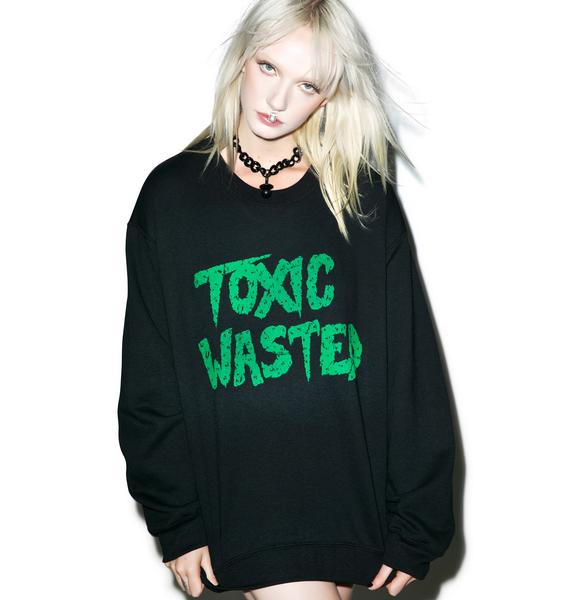 Burger And Friends Toxic Wasted Sweatshirt