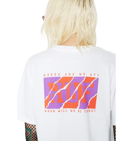 HUF Clemson Lock Up Tee