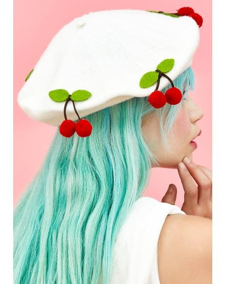 Cherry Crush Beret