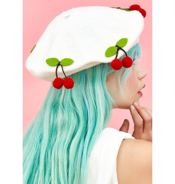 Cherry Crush Beret