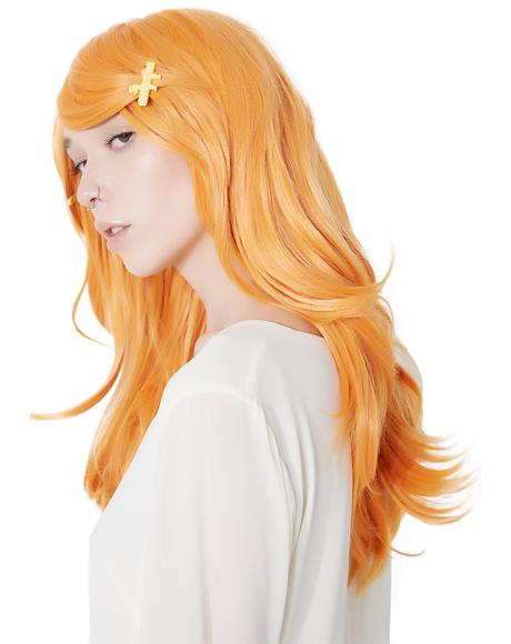 Pumpkin Mid-Length Wig