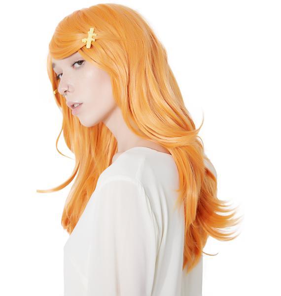 Rockstar Wigs Pumpkin Mid-Length Wig
