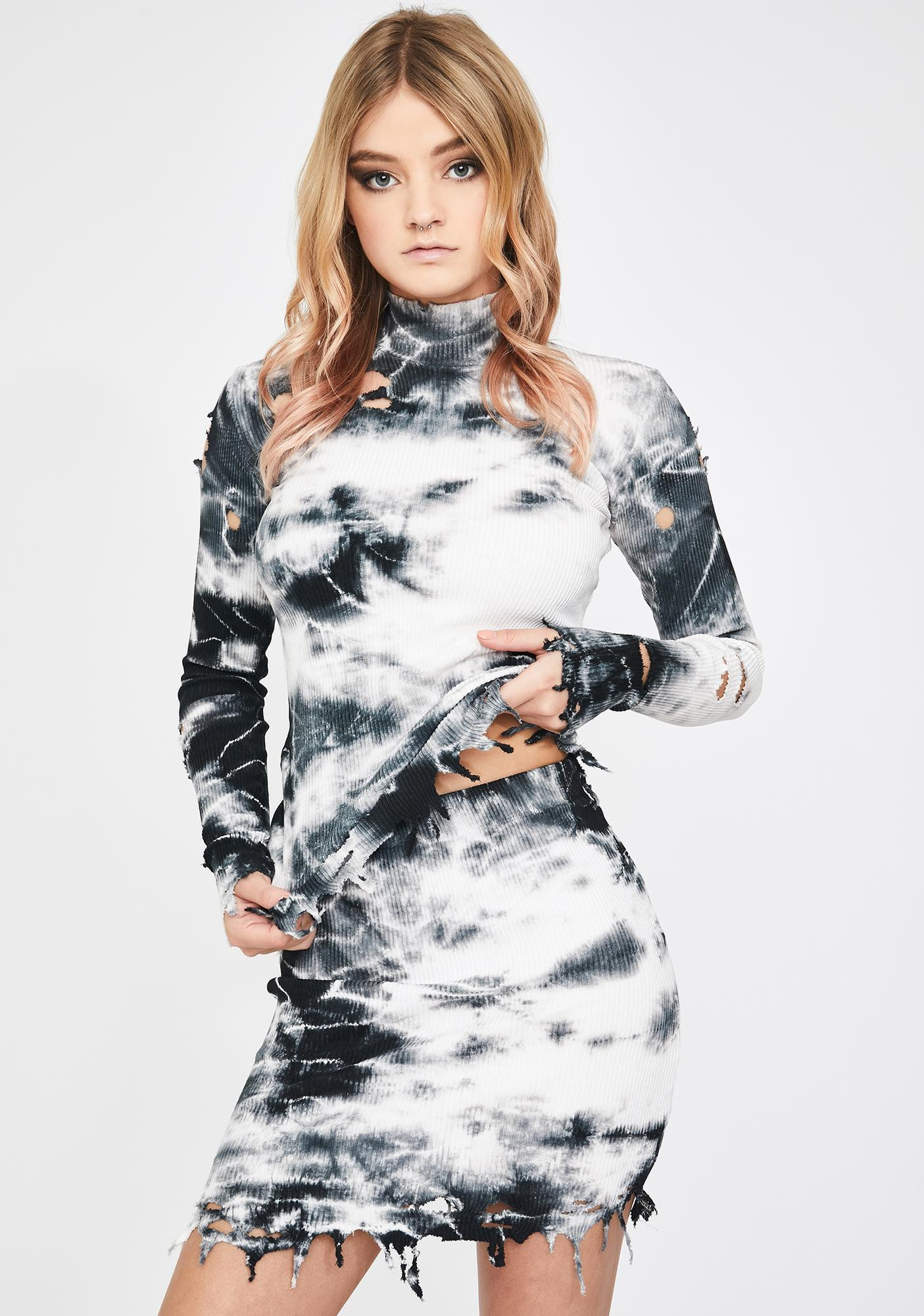 Kiki Riki White Keep It Chill Tie Dye Set