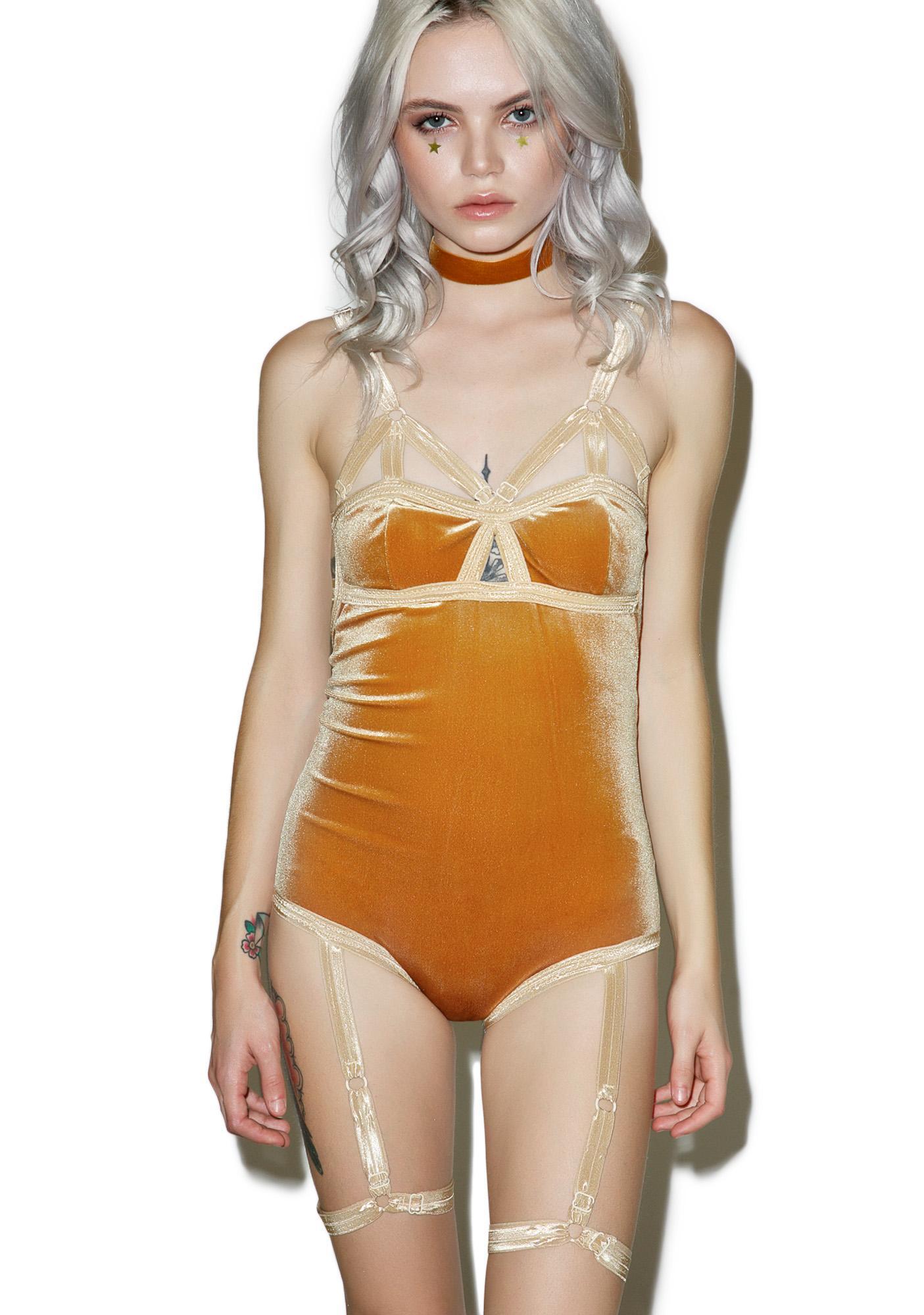 Solstice Intimates Harness Bodysuit