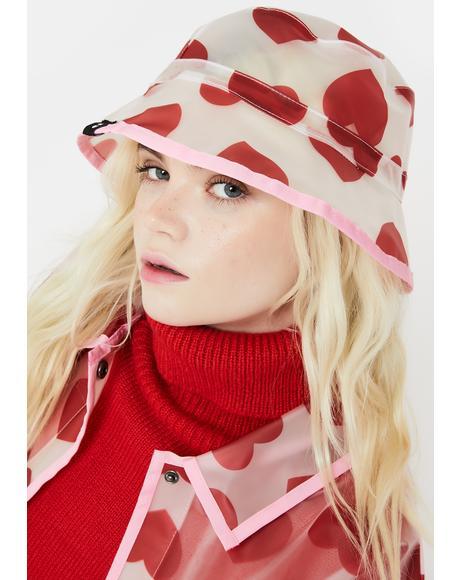 See Through Heart Bucket Hat