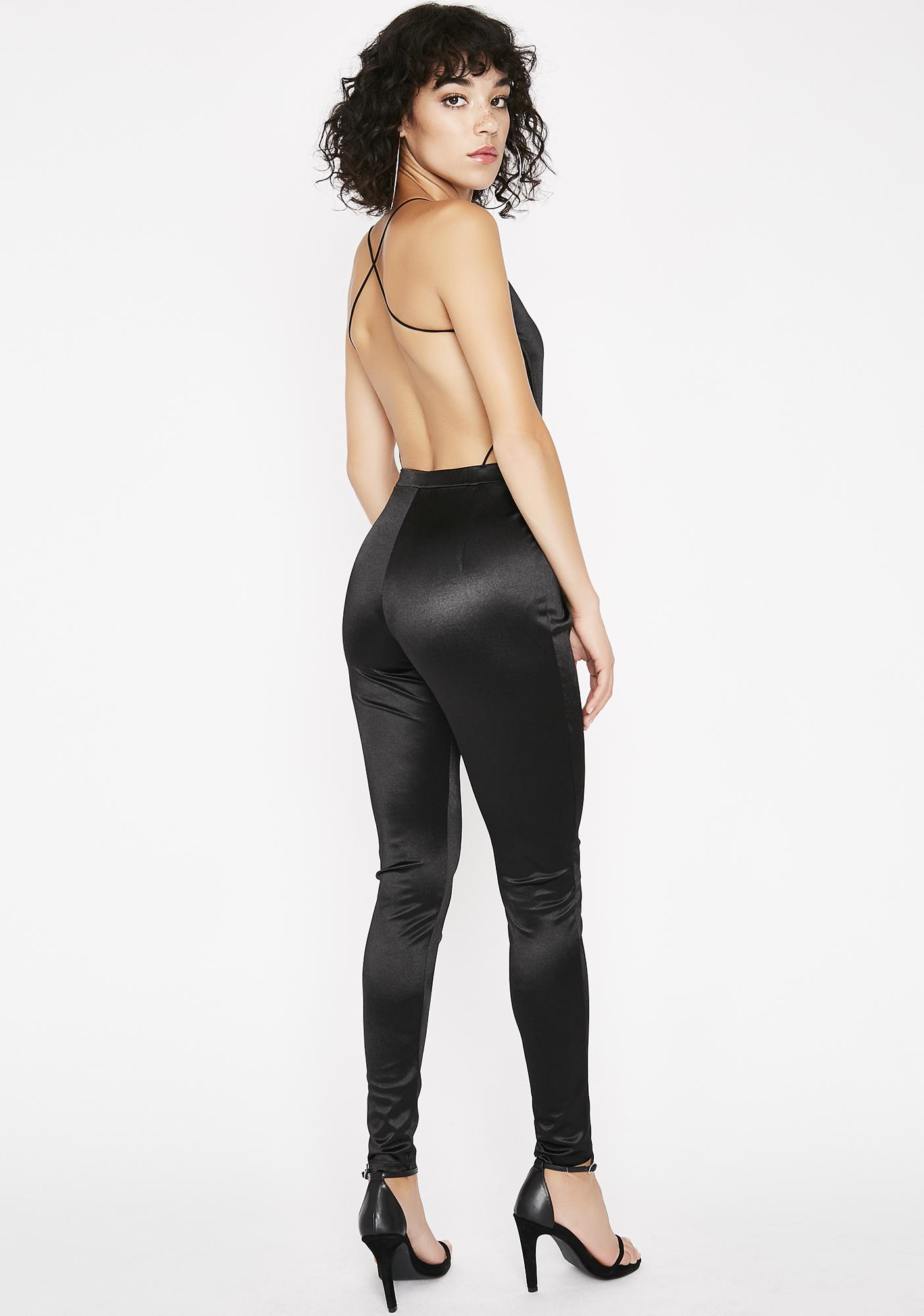 Supplier Satin Catsuit