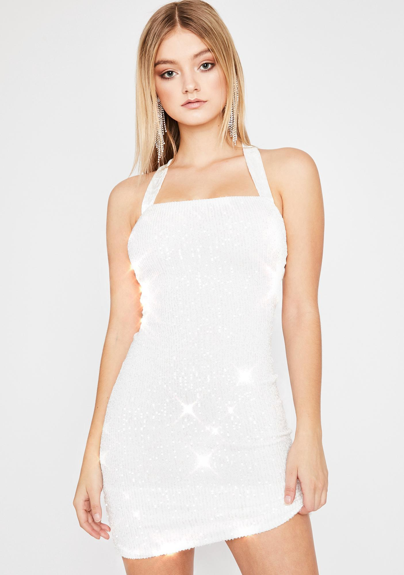 Pure Glamour Shot Sequin Dress