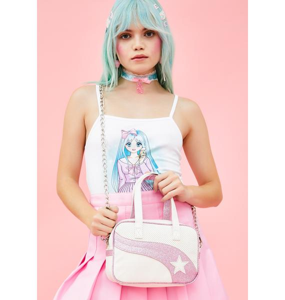 Sugar Thrillz Bon Bon Sparkle Kitty Sport Bag