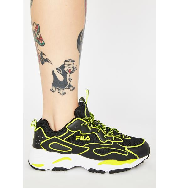 Fila Neon Ray Tracer Sneakers