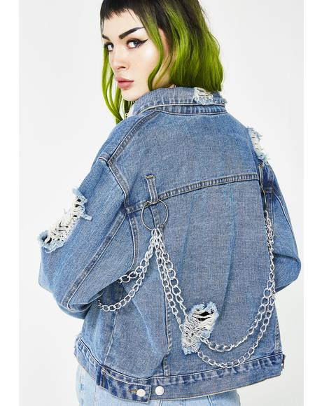 In The Cut Denim Jacket