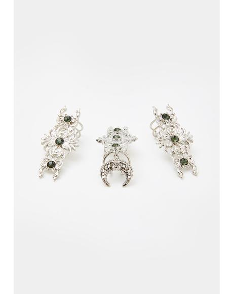 Goddess Glamour Ring Set
